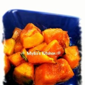 かぼちゃの照り焼き