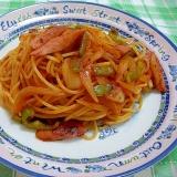 イタリアンスパゲティ (ナポリタン)