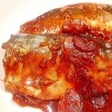 圧力鍋で小骨柔らか カルシウムが摂れる鯖の味噌煮