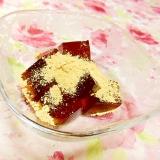 和テイスト❤黒糖・生姜のくず餅❤