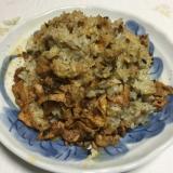 高菜キムチのチャーハン