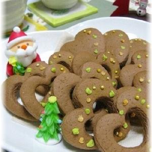 ☆クリスマス&バレンタインにココアクッキー♪