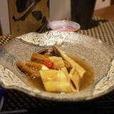 さつまあげと四方竹のピリ辛煮