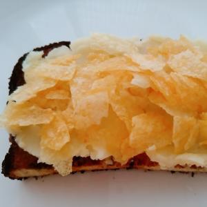 じゃがクリームとポテチのトースト