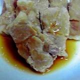 レンジで簡単♪ロール豚肉の生姜焼き