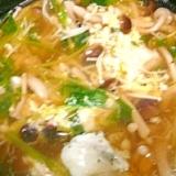 ダイエット★たっぷりきのこの卵スープ 41Kcal