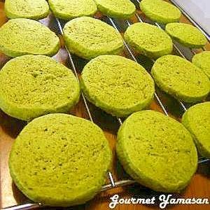 お茶好きさんのための♪抹茶と緑茶のクッキー