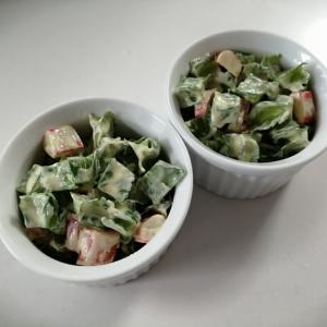 しかくまめ&カニカマ☆簡単サラダ