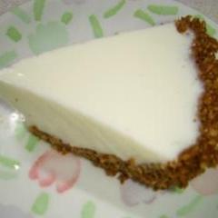 自家製クリームチーズで 簡単レアチーズケーキ