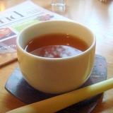 玄米レモングラス、ジンジャーティーで朝はのんびり。