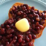 休日の朝を贅沢に♪小豆バタートースト