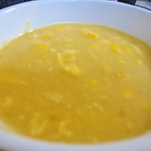 中華料理店の味?濃厚な中華風コーンスープ
