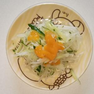 みかんきゅうり大根サラダ