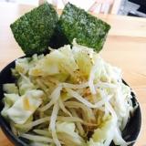 野菜たっぷりノンミート二郎風ラーメン