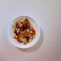 ウインナー入り野菜炒め