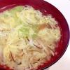 端っこ野菜の卵スープ