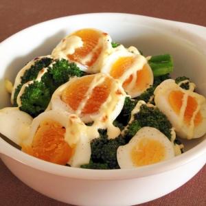 お手軽もう一品☆卵とブロッコリーのマヨ焼き