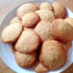 黒糖とココナッツのグルテンフリークッキー