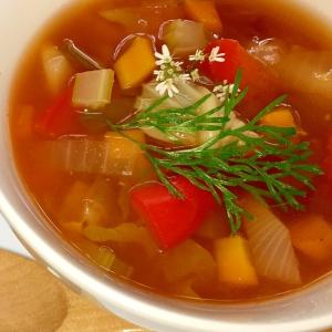 脂肪燃焼スープ/デドックススープ 生姜で燃焼!