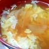 豆腐のかきたま和風スープ