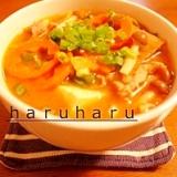 ピリ辛☆キムチチゲスープ