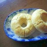 米粉と豆腐の焼きドーナツ