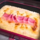 豆腐でカサ増し!山芋グラタン☆