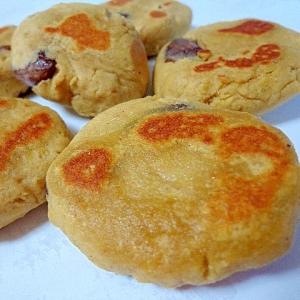 甘納豆入りが嬉しい♡ほくほく蕎麦芋お焼き