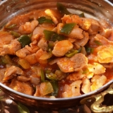 トルコ料理★鶏肉のカブルマ