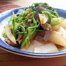 大根と小エビの中華風煮物