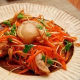 デパ地下簡単総菜!ベビーホタテと貝割れの和風マリネ