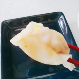 スズキ(白身魚)のヘルシー水餃子♪