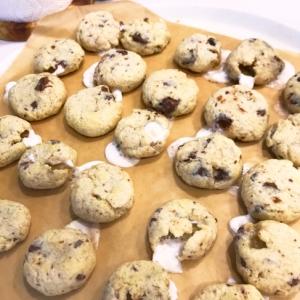 分量簡単♡マシュマロチョコクッキー