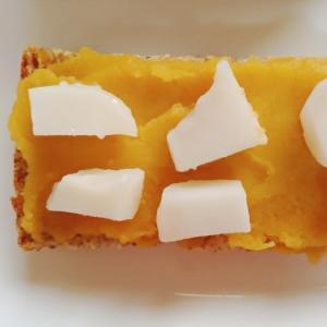 薩摩芋クリームと白玉団子のトースト