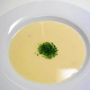 意外に簡単・じゃがいもの冷製スープ!ビシソワーズ