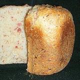 ふんわり香~ばしいベーコン食パン