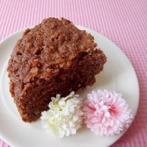 レンジで超簡単*おからのココアきな粉ケーキ*