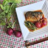 鯖とカブの味噌煮