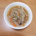 えのき茸ともやしの中華スープ