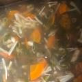 豆腐わかめネギえのきスープ