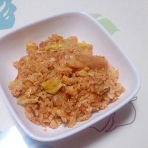 キムチ卵チャーハン++