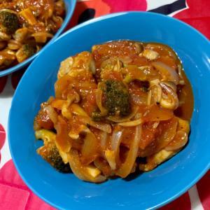 鶏モモ肉のトマト煮♡