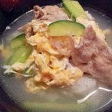 韓国風雑炊♪わが家のクッパ
