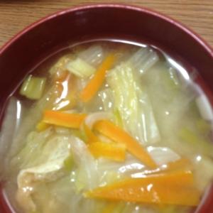 野菜の味噌汁