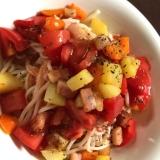 冷製パスタ風*トマトソース素麺