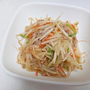 野菜たっぷりそぼろ炒め++
