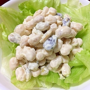 たっぷりお豆のマヨサラダ☆発芽大豆を使って
