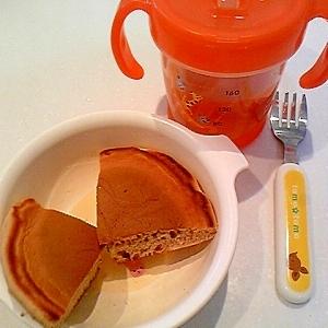もちもちおいしい♪豆腐とココアのホットケーキ★