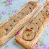 冷凍パイシートで☆メープルバナナスティックパイ