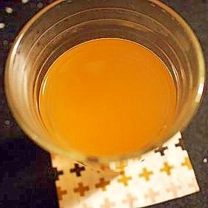 金時生姜湯で梅酒割り♪